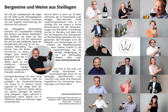 FUW Anzeige Vinum 2017/10