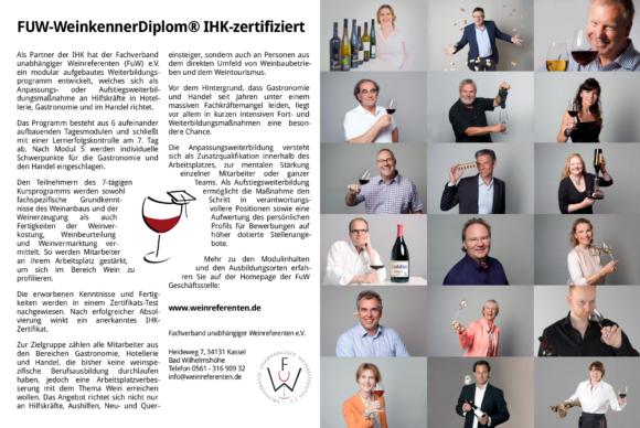 FuW Anzeige in der Vinum 2018/05