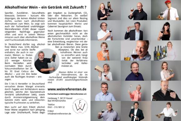 FuW Anzeige in der Vinum 2019/05