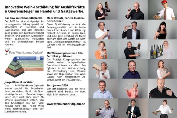 FuW Anzeige in der Vinum 2019/08