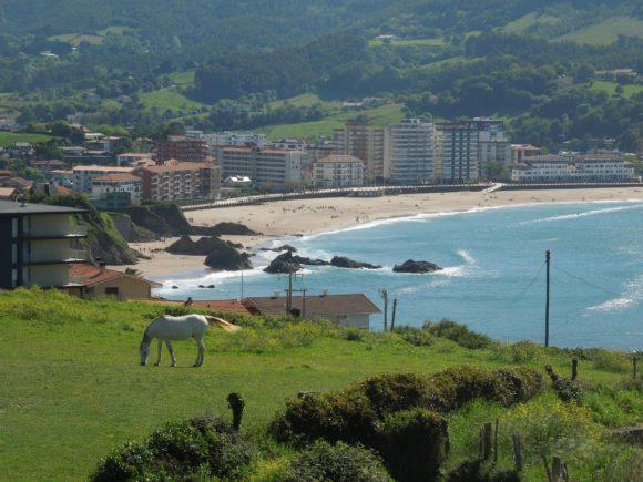 Baskische Küste bei Bakio