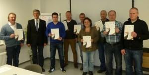 Herzlichen Glückwunsch zur bestandenen Prüfung für das Bronze Weinkenner Diplom.