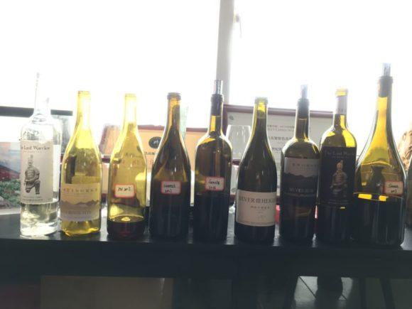 Verkostete Wein im Weingut Silver Heigh von Emma Gao.