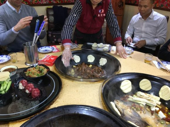 Self Cooking Center am Round Table