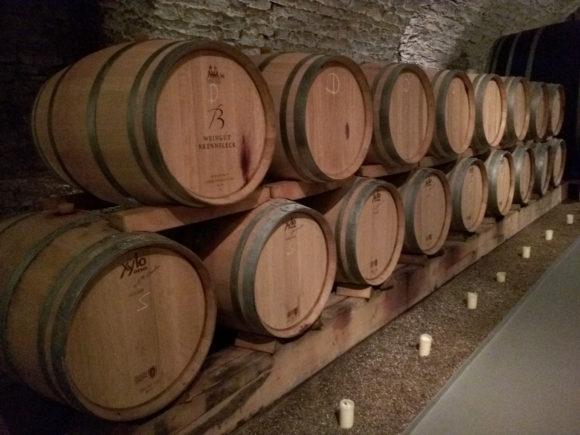Weinkeller vom Weingut Brennfleck in Sulzfeld, Franken