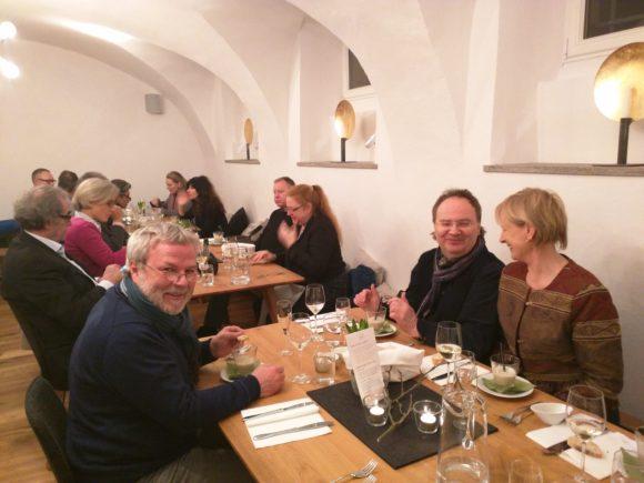 Degustationsmenü im Weingut Brennfleck in Sulzfeld, Franken
