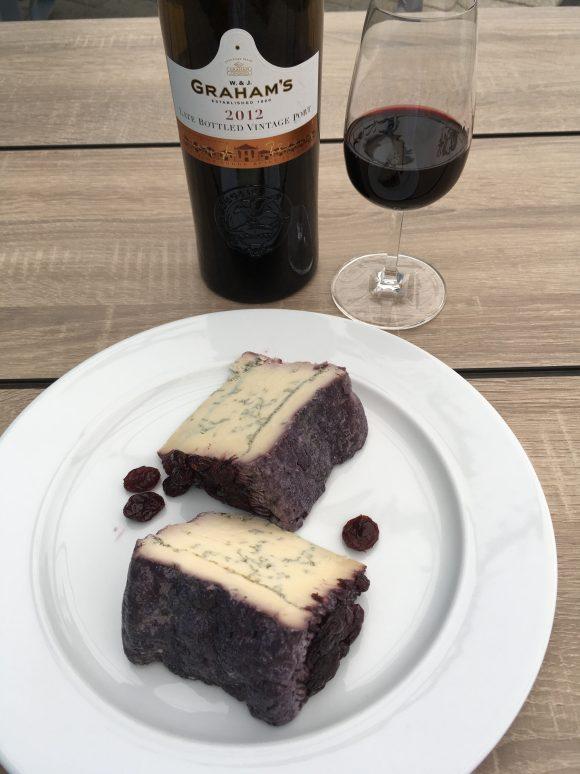 Käse Blu 61 mit Portwein