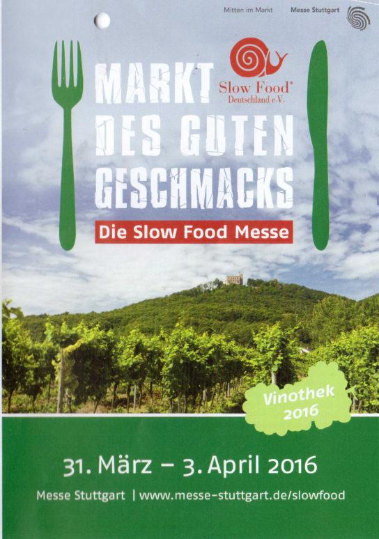 Slow Food Messe 2016 in Stuttgart