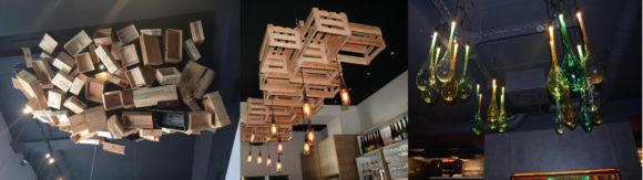 Weinbar Deckendesigns