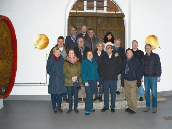 Gruppenfoto FuW bei Brennfleck