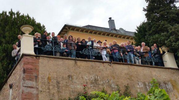 Schloss Johannisberg, Reisegruppe der Gastronomen