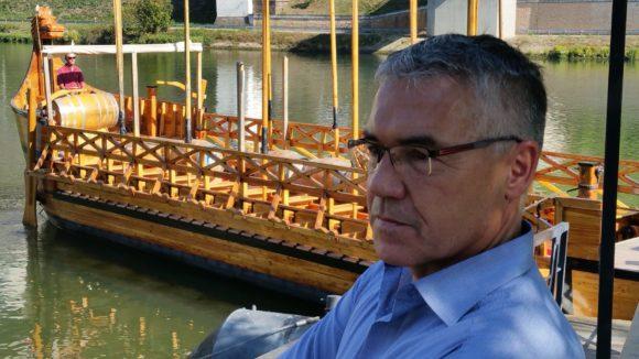 Martin Schultz und das Weinschiff der Römer