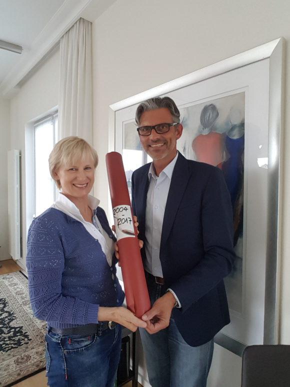 Vorstandswechsel Ulrike Banse zu Michael Kugel